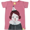 pierrot girl short sleeve tshirt