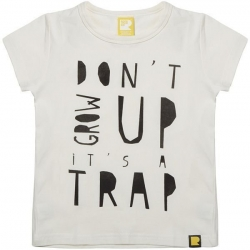 don't grow up short sleeve tshirt