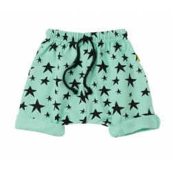 star struck slouch shorts - green