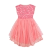 swirling hearts tulle dress back