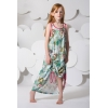 fairy drawstring maxi dress model