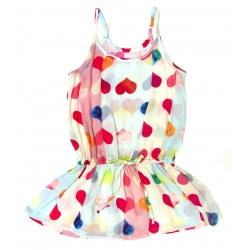 heart swing dress