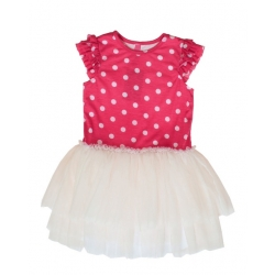 nice dress poppy dots
