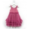 starlet dress sparkle dusty rose