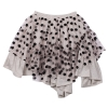 dotty frilled skirt